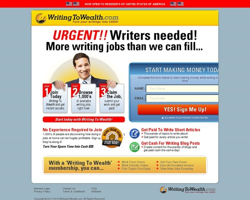 Writing To Wealth